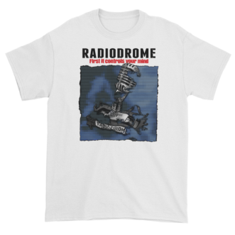 Radiodrome Short Sleeve T-Shirt – Black Text