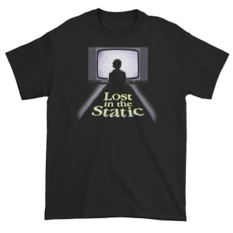 Lost in the Static TV Dark Short Sleeve T-Shirt